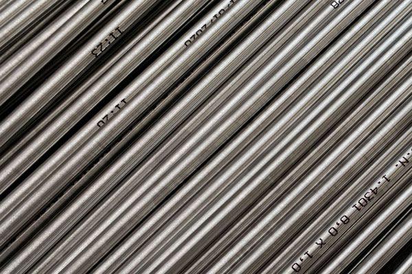 tubo in acciaio inox in barra